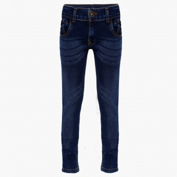 BOSSINI Whiskered Jeans