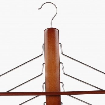 Winston Kennedy Wooden Trouser And Saree Hanger