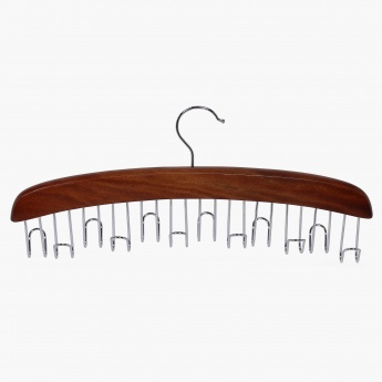 Winston Kennedy Wooden Belt Hanger With 12 Hooks