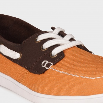 JUNIORS Canvas Boat Shoes