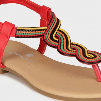 JUNIORS Beauty & Beads Sandals