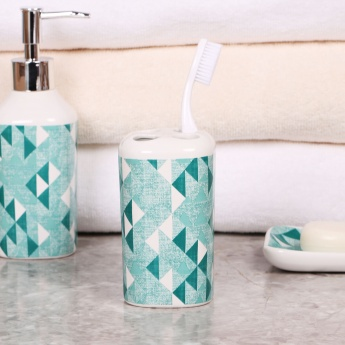Hudson Printed Tooth Brush Holder