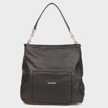 DAVID JONES Pebbled Finish Handbag