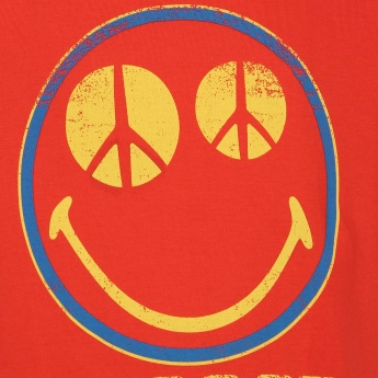 SMILEY Cool Graphic Print T-Shirt