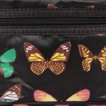 GINGER Butterfly Print 3 In 1 Vanity Case