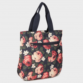 GINGER Floral Print Shoppers Bag
