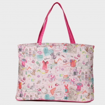 GINGER Baby Doll Print Tote Bag