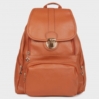 GINGER Twist Buckle Backpack