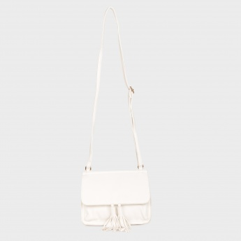 GINGER Tasselled Pastel Sling Bag