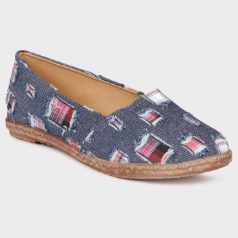 GINGER Patched Street Slip Ons