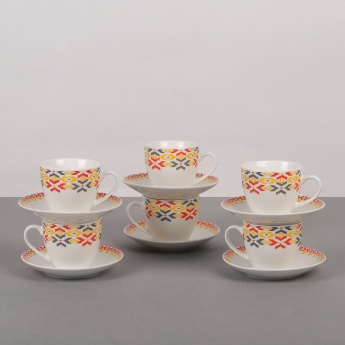 Merida Cup And Saucer Set Of 6