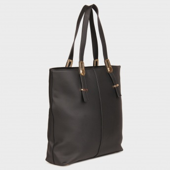 CODE Pebbled Finish Tote Bag