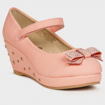 JUNIORS Studded Wedges