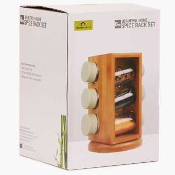Beautiful Home Spice Rack Set- 7Pcs.