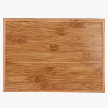 Edulis Natural Bamboo Serving Tray