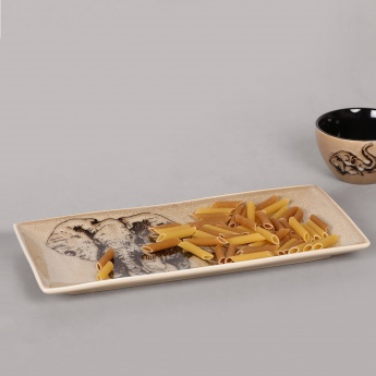 Imperial Elephant Rectangular Platter