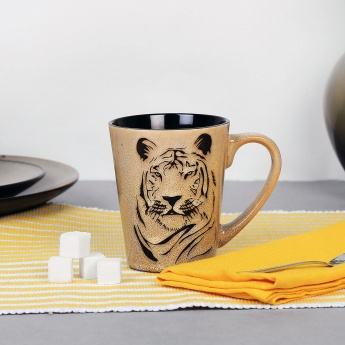 Imperial Tiger Print Mug - 330 ml