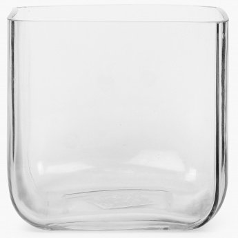 Cube Clear Vase