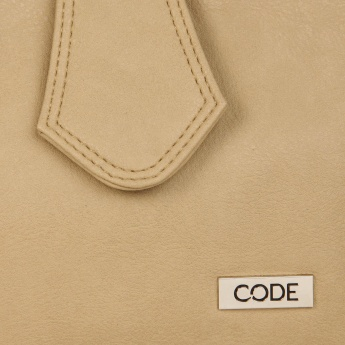 CODE Flap On Bucket Bag