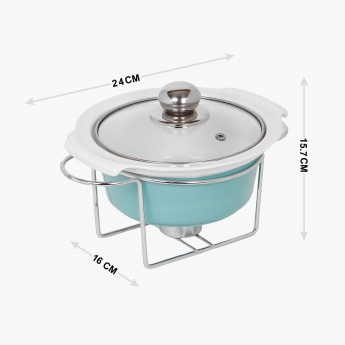Lynden Food Warmer With Lid And Stand - 800 ml
