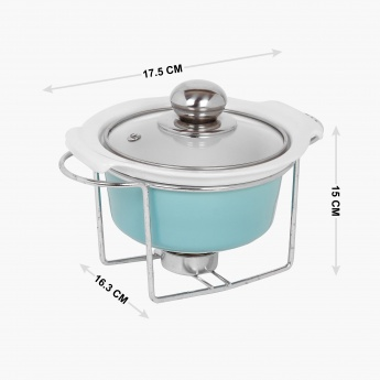 Lynden Food Warmer With Lid And Stand - 400 ml