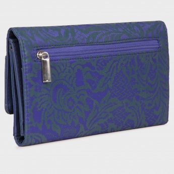 BAGGIT Single Fold Printed Flap Wallet