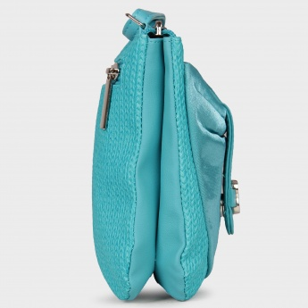 BAGGIT Zip Closure Side Sling Money Purse