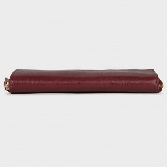 BAGGIT Single Fold Zip-Up Wallet