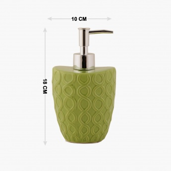 Hudson Embossed Soap Dispenser