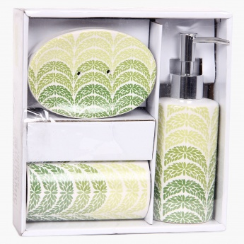 Addison Ceramic Bath Accessory Set- 3 Pcs.