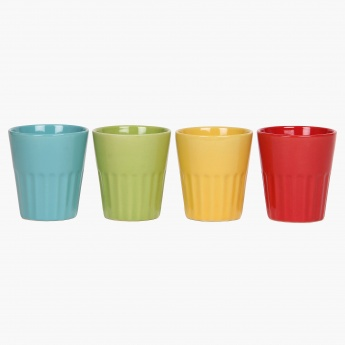 Multi-Colour Tea Cup Set- 4 Pcs.
