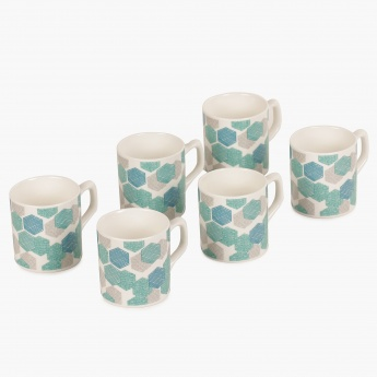 Bone China Coffee Mug- Set Of 6 Pcs.