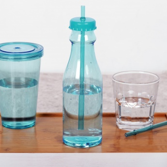 Bebida Water Bottle With Straw - 700 ml