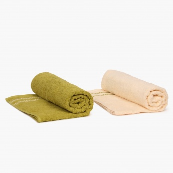 HOME CENTRE Bath Towel- Set Of 2