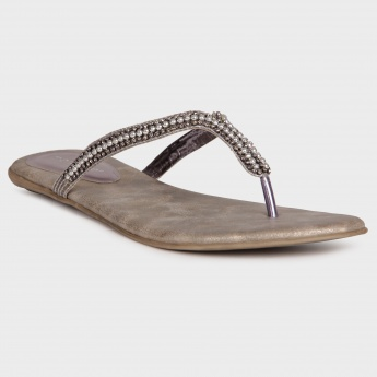 MELANGE Beaded Affair Sandals