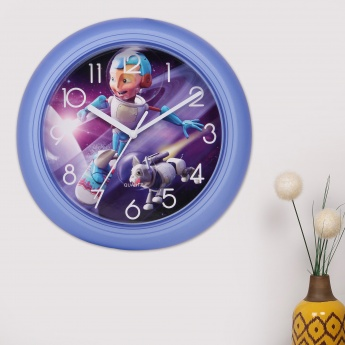 Adventure of U-tron Space Wall Clock