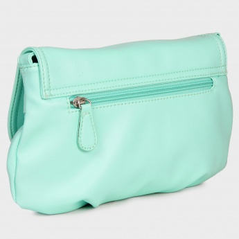 LAVIE Blue Hues Flap Over Sling Bag