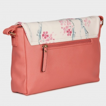 LAVIE Floral Flap Sling Bag