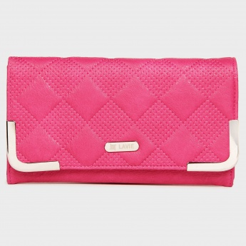 LAVIE Embroidered Flap Wallet
