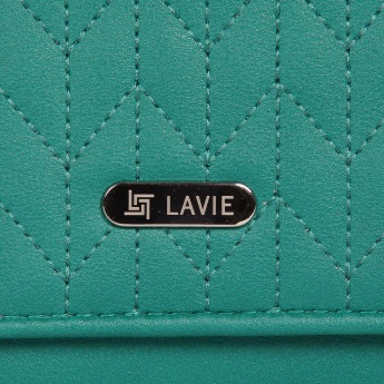 LAVIE Overlay Stitch Flap Wallet