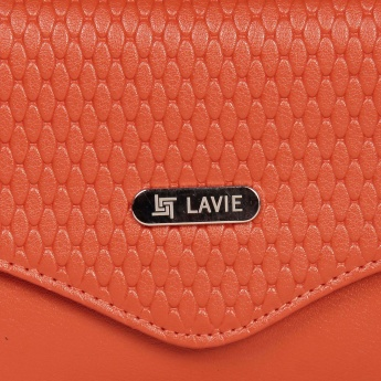 LAVIE Textured Fold-Over Wallet