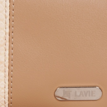 LAVIE Triple Fold Snake Print Wallet
