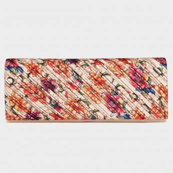 PAPRIKA Floral Bliss Chain Strap Clutch