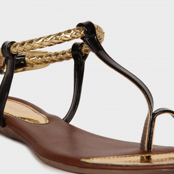 CATWALK Strappy Tie-Over Flats