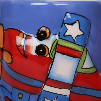 Adventure of U-tron Fly High Mug