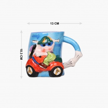 Adventure of U-tron Scooty Boy Mug