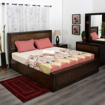 Mandarin Double Bed And Bath Set