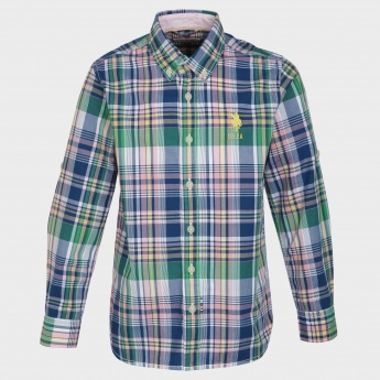 U.S. POLO ASSN. Cotton Check Shirt
