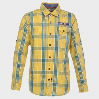 U.S. POLO ASSN. Full Sleeves Cotton Shirt