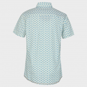 U.S. POLO ASSN. Printed Half Sleeves Shirt